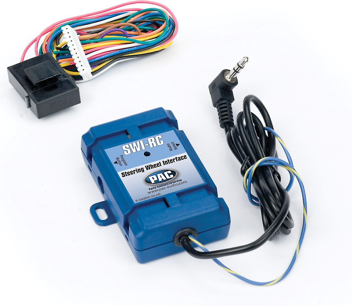 hight resolution of pac swi rc steering wheel control adapter connects your car s steering wheel audio controls to select aftermarket car stereos at crutchfield com