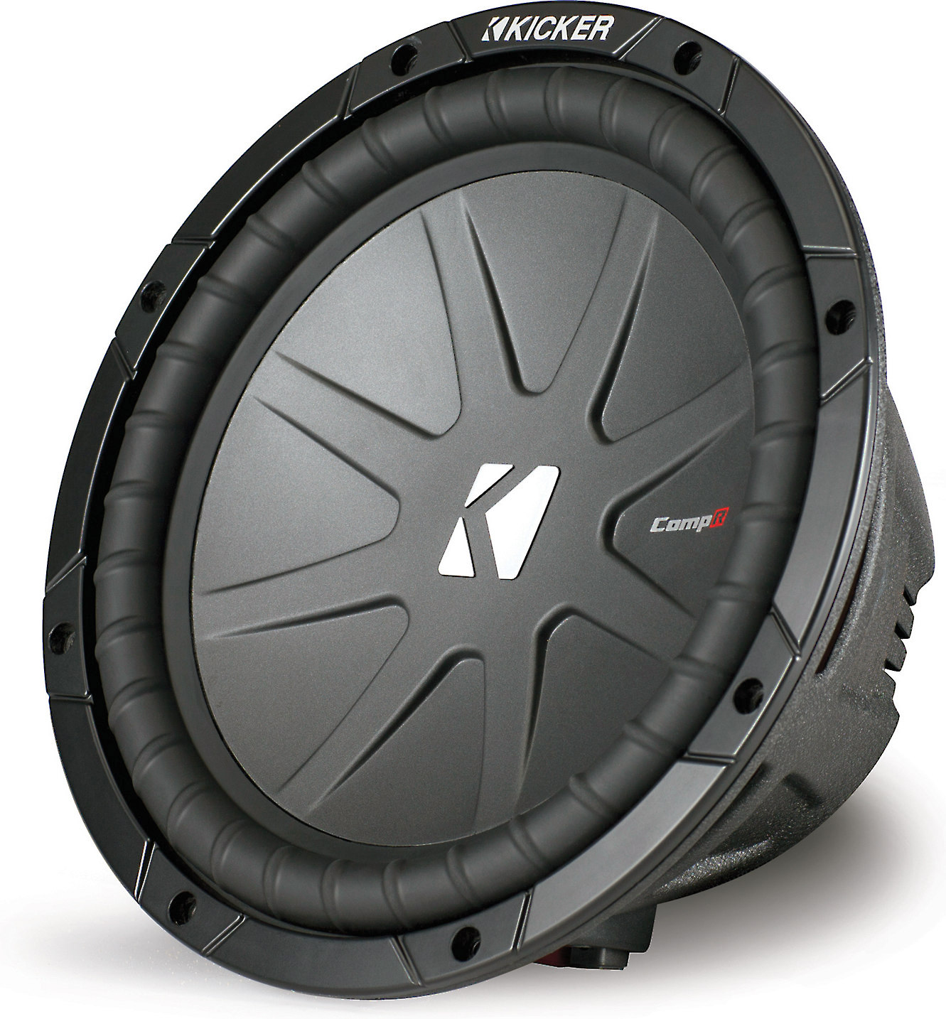 hight resolution of kicker 40cwr102 compr series 10 subwoofer with dual 2 ohm voice coils at crutchfield com
