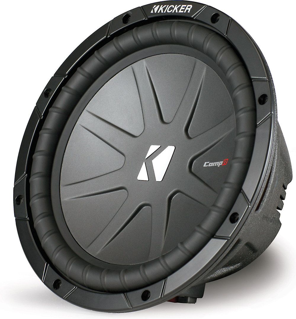medium resolution of kicker 40cwr102 compr series 10 subwoofer with dual 2 ohm voice coils at crutchfield com