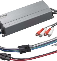 clarion xc1410 compact 4 channel amplifier 50 watts rms x 4 at crutchfield com [ 3024 x 1832 Pixel ]