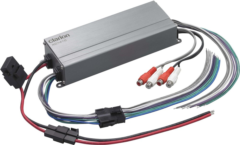 medium resolution of clarion xc1410 compact 4 channel amplifier 50 watts rms x 4 at crutchfield com