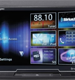 clarion fx503 does not play cds digital multimedia receiver at crutchfield com [ 3282 x 2001 Pixel ]