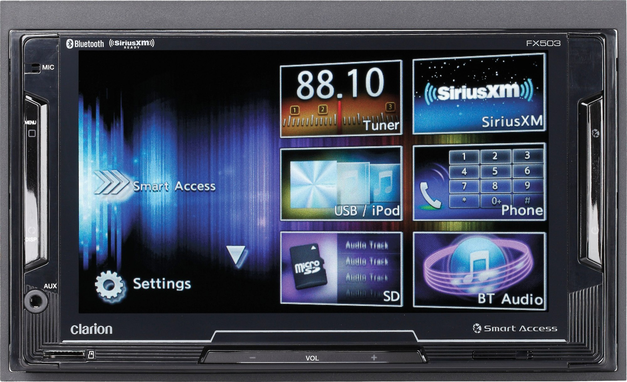 hight resolution of clarion fx503 does not play cds digital multimedia receiver at crutchfield com