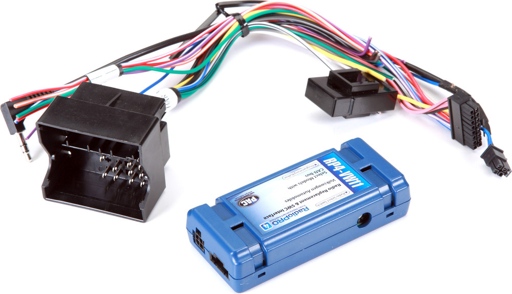 wiring diagram for car amplifier 5 pin din to rca plug pac rp4-vw11 interface connect a new stereo and retain steering wheel audio controls ...