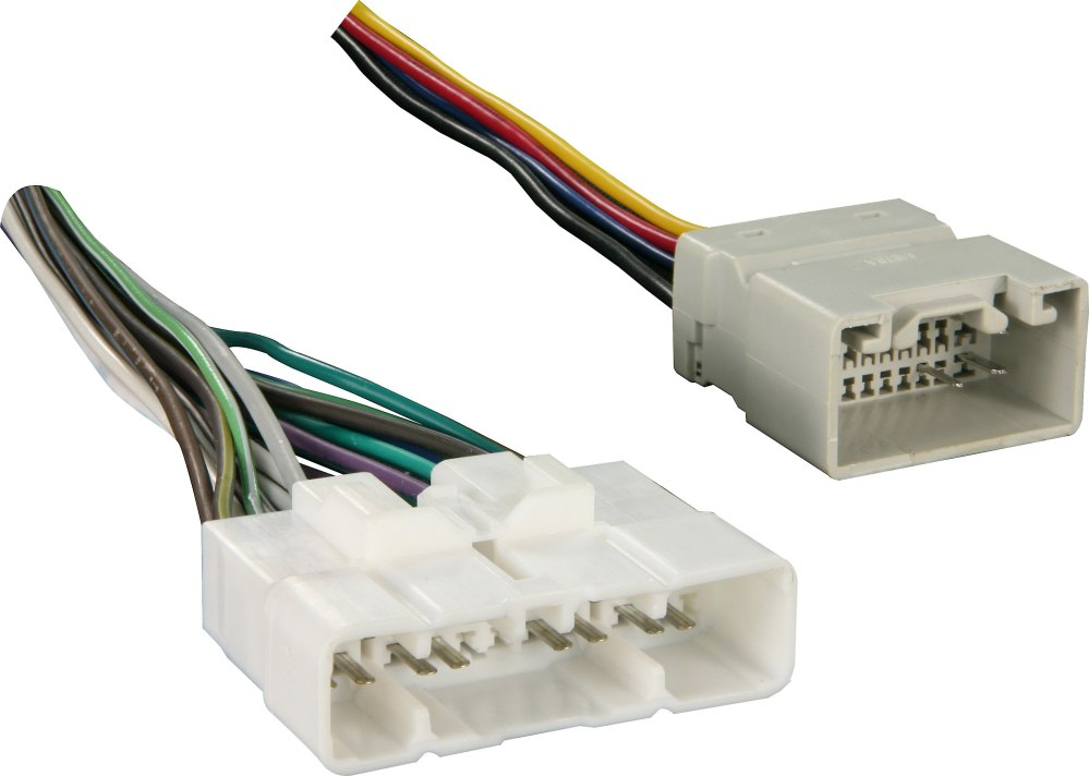 medium resolution of metra 70 8117 amp bypass harness connect a new car stereo and bypass the factory amplifier in select 2003 07 toyota vehicles at crutchfield