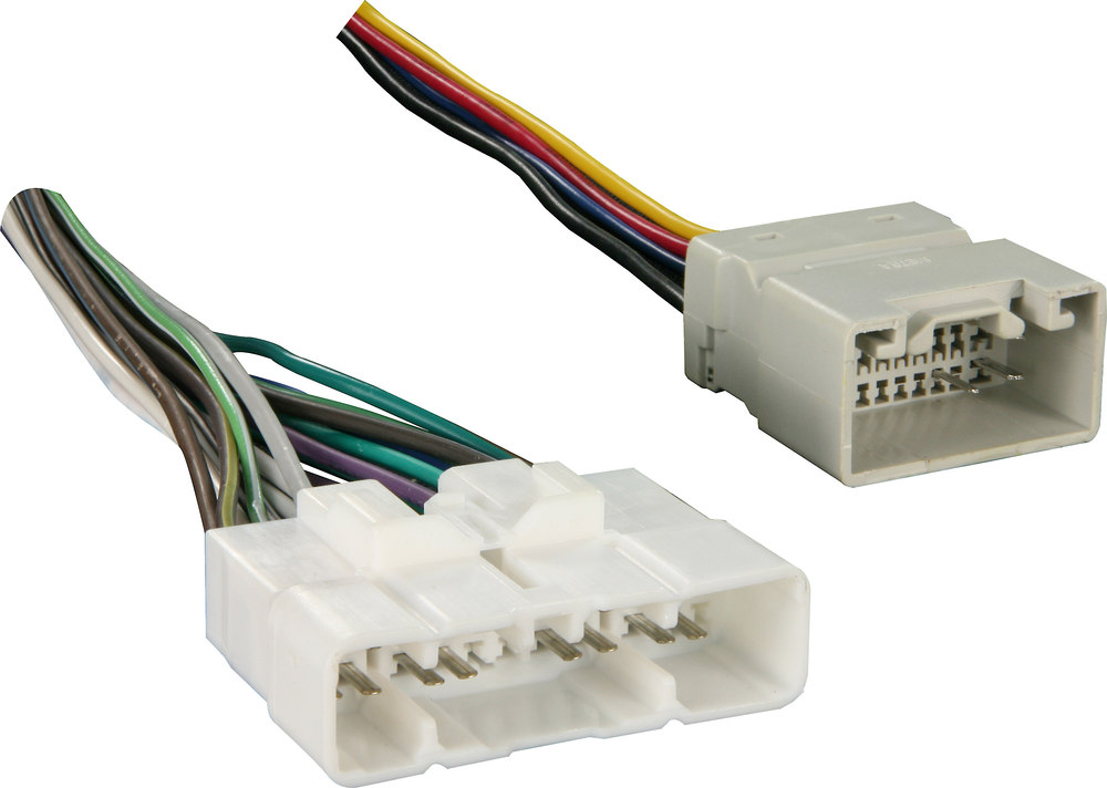 Amp Radio Subwoofers Wiring Metra 70 8117 Amp Bypass Harness Connect A New Car Stereo