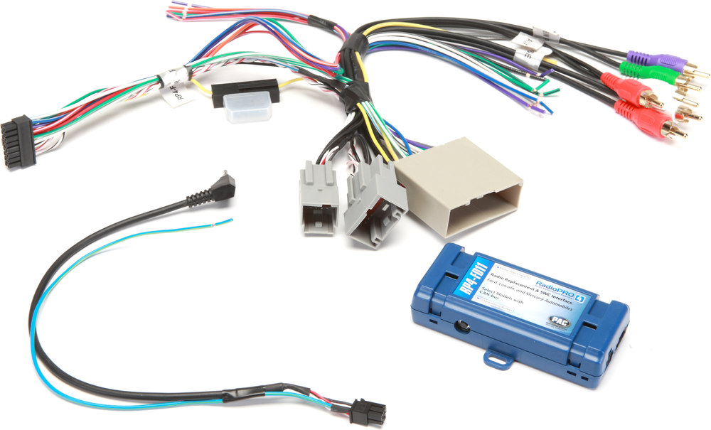 2006 Ford F150 Radio Wiring Harness Pac Rp4 Fd11 Wiring Interface Connect A New Car Stereo And