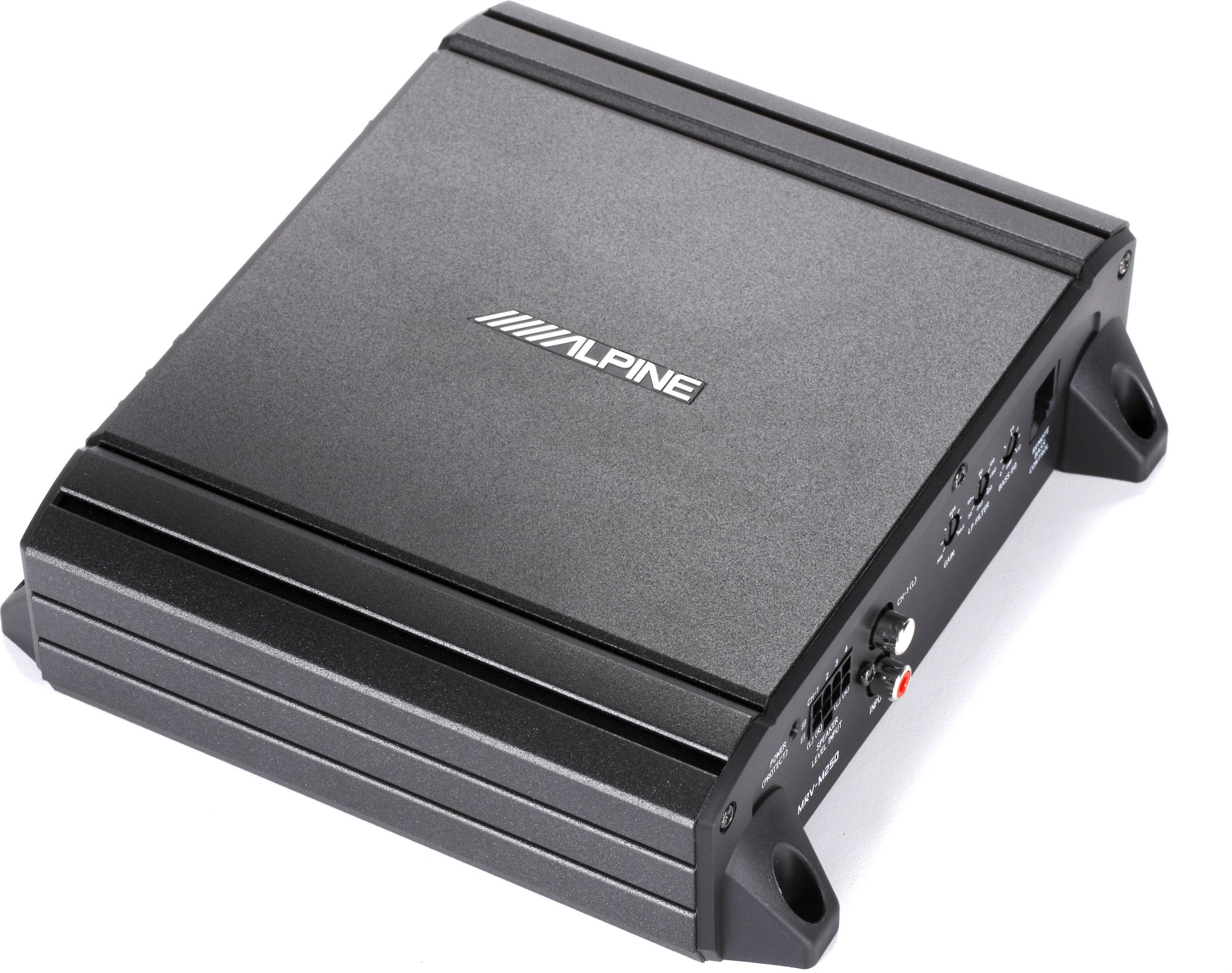 hight resolution of alpine mrv m250 mono subwoofer amplifier 250 watts rms x 1 at 2 ohms at crutchfield