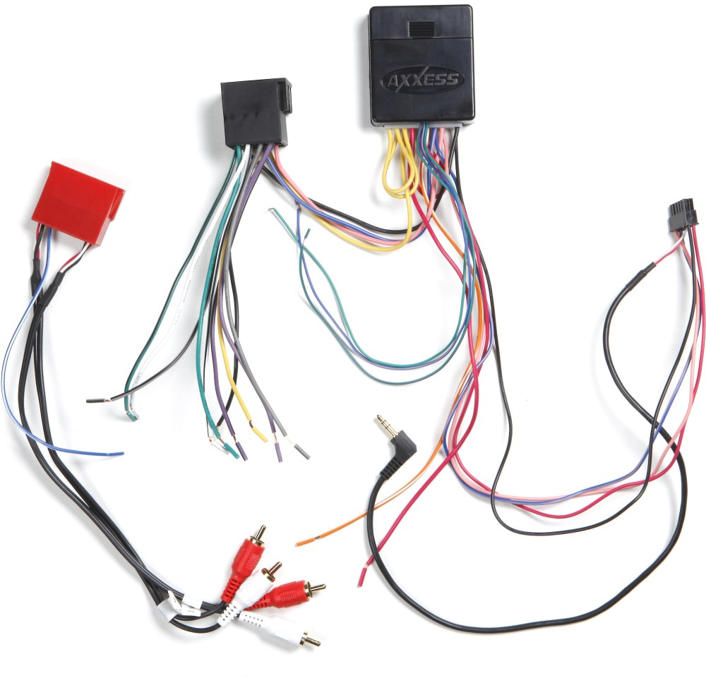 medium resolution of axxess xsvi 6515 nav wiring interface connect a new stereo and retain the factory bluetooth usb auxiliary input and rap in select 2012 up fiat 500