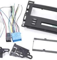 metra 99 3303 dash and wiring kit install and connect a new single din car stereo and retain the driver info center in select 2004 09 chevrolet or pontiac  [ 4206 x 2624 Pixel ]