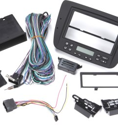 metra 99 5718 dash and wiring kit install and connect a new single din or double din car stereo in a 2000 03 ford taurus or mercury sable with electronic  [ 4242 x 2888 Pixel ]