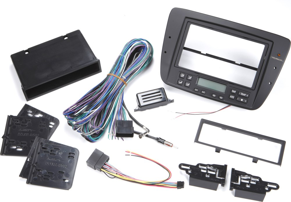 medium resolution of metra 99 5719 dash and wiring kit install and connect a new single din or double din car stereo in a 2004 07 ford taurus or 2004 05 mercury sable at