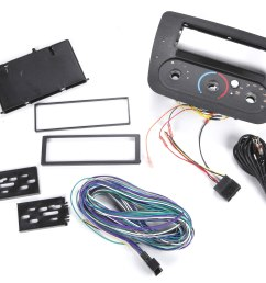 scosche fd1380b dash and wiring kit install and connect a new car stereo in select 2000 up ford taurus and mercury sable vehicles with rotary climate  [ 4262 x 3504 Pixel ]