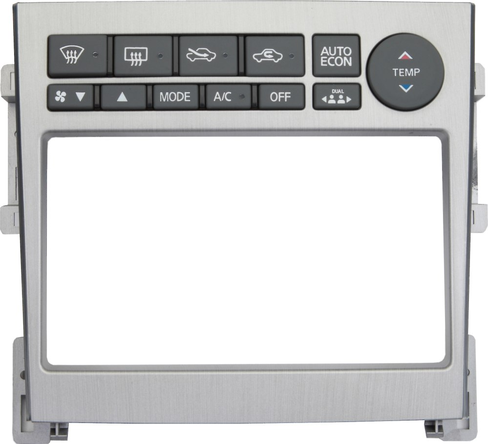 medium resolution of metra 95 7605 dash kit brushed aluminum finish install a new double din receiver in your 2005 07 infiniti g35 at crutchfield