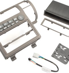 metra 99 7604 dash kit tan install a new single din or double din car stereo in your 2003 04 infiniti g35 at crutchfield [ 3594 x 2000 Pixel ]