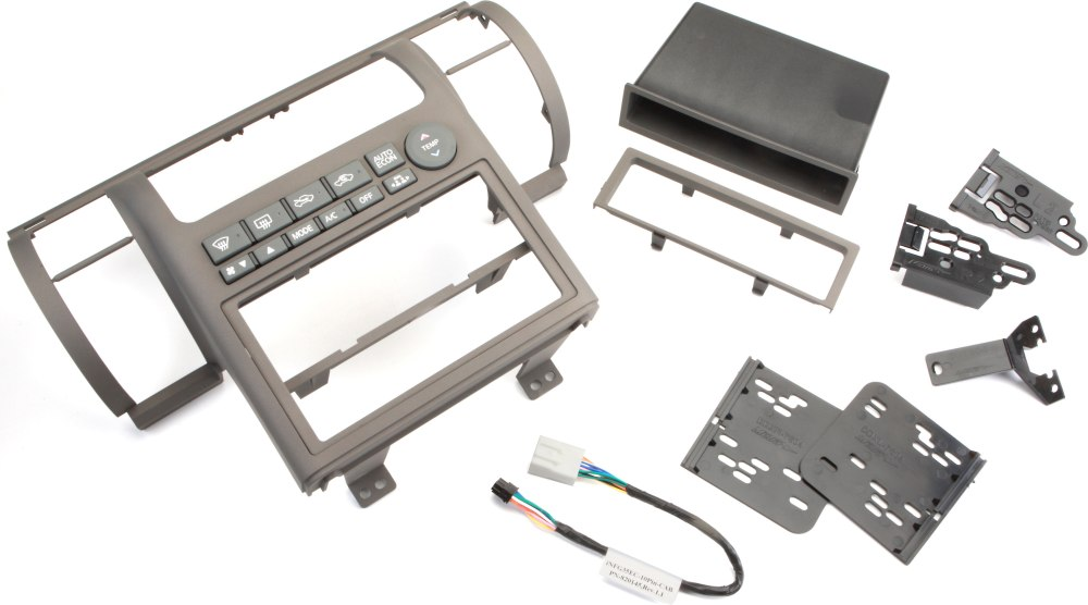 medium resolution of metra 99 7604 dash kit tan install a new single din or double din car stereo in your 2003 04 infiniti g35 at crutchfield