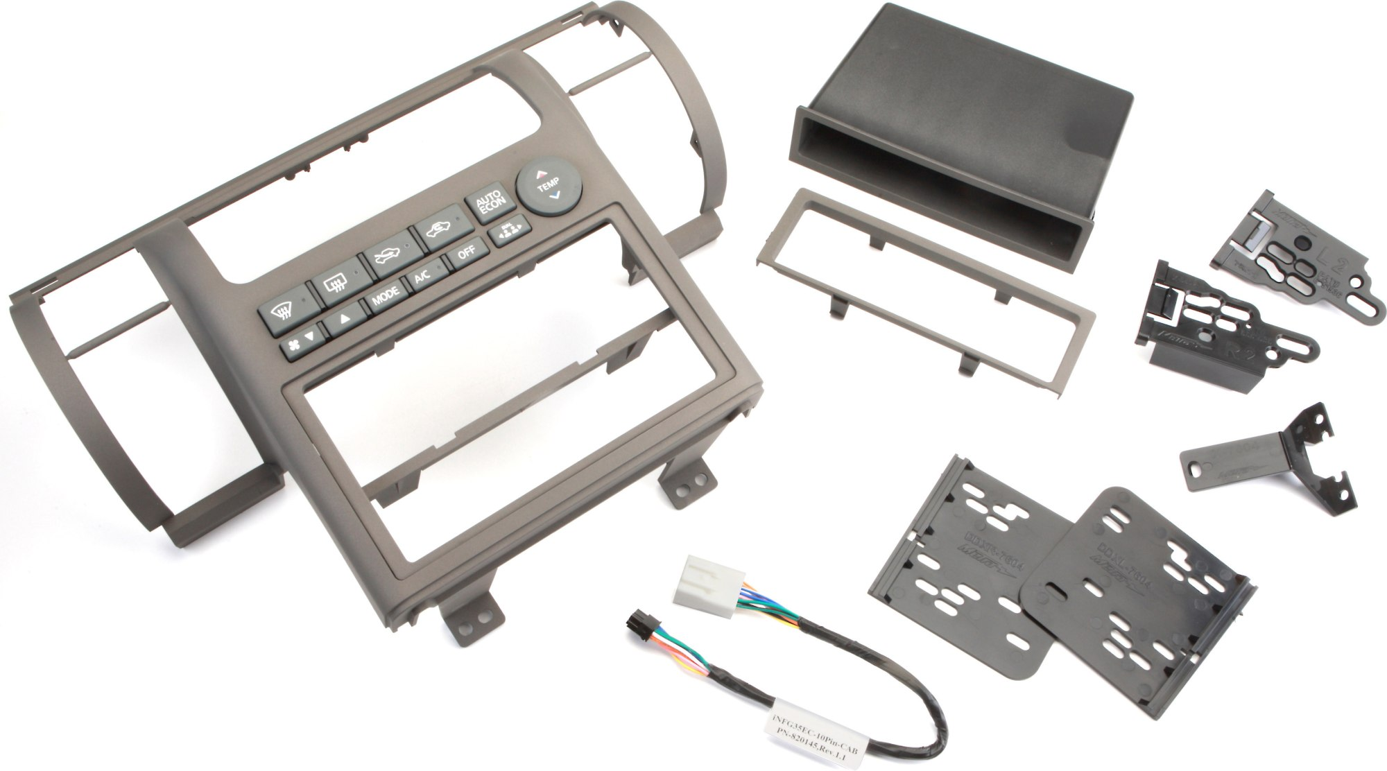 hight resolution of metra 99 7604 dash kit tan install a new single din or double din car stereo in your 2003 04 infiniti g35 at crutchfield
