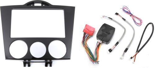 small resolution of metra 95 7510 dash and wiring kit gloss black install and connect a new double din car stereo in a 2004 08 mazda rx 8 at crutchfield