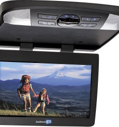 audiovox avxmtg13ua 13 3 overhead video monitor with built in dvd player at crutchfield com [ 1713 x 1541 Pixel ]