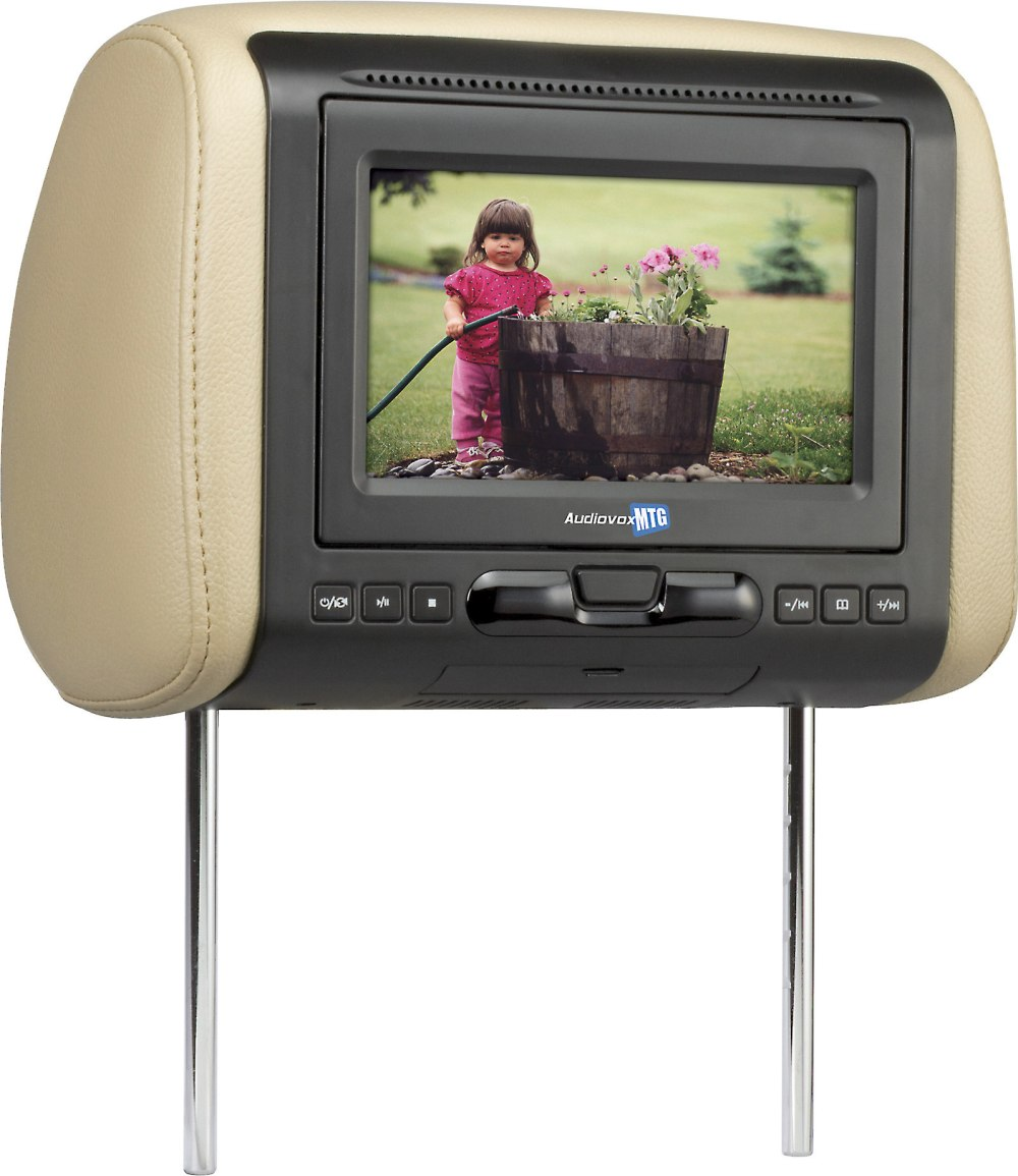 medium resolution of audiovox avxmtghr1d 7 universal headrest video monitor with built in dvd player at crutchfield com