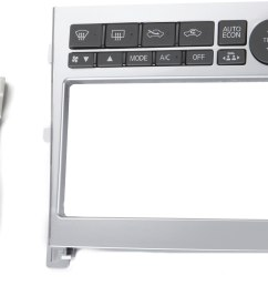 metra 95 7605 dash kit silver finish install a new double din receiver in your 2005 07 infiniti g35 at crutchfield [ 3334 x 2285 Pixel ]