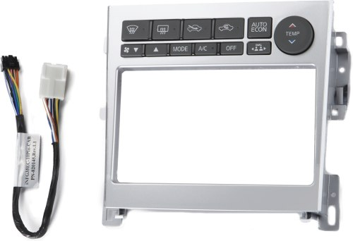 small resolution of metra 95 7605 dash kit silver finish install a new double din receiver in your 2005 07 infiniti g35 at crutchfield
