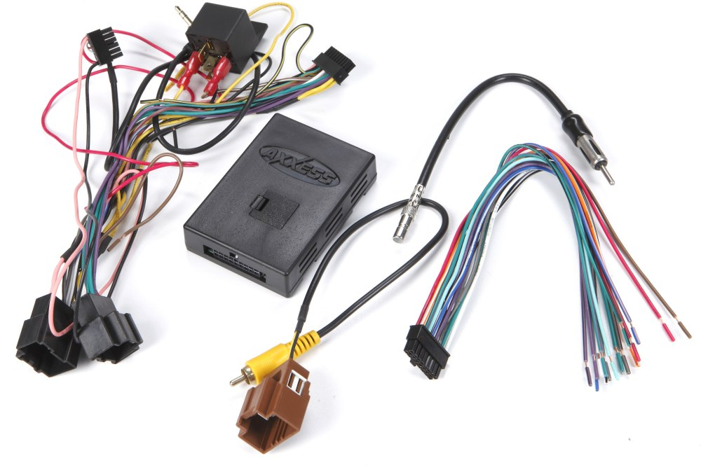 medium resolution of axxess gmos lan 02 wiring interface connect a new car stereo and retain factory amp onstar bluetooth backup cam and warning chimes in select 2006 up gm