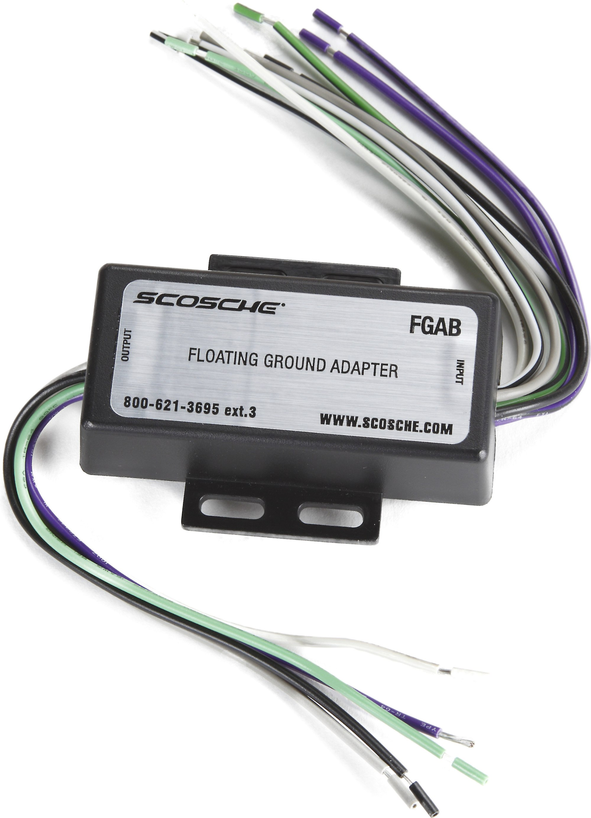 hight resolution of scosche fga floating ground adapter connect a new car stereo in select older pre 1995 vehicles with a common ground speaker system at crutchfield com