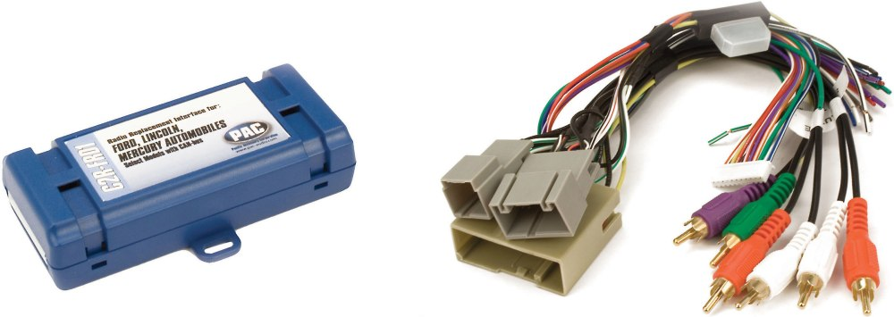 medium resolution of pac c2r frd1 wiring interface connect a new car stereo and retain factory amp and rear seat system in select 2005 16 ford lincoln and mercury vehicles at