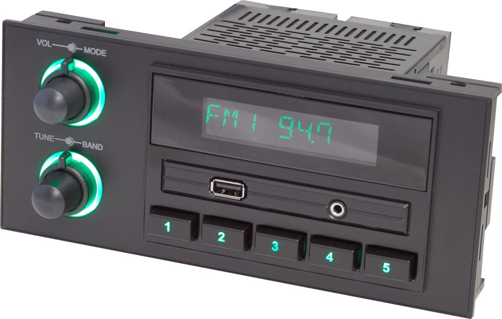 medium resolution of retrosound newport digital media receiver for gm chrysler ford and jeep vehicles with 1 5 din dash openings does not play cds at crutchfield com