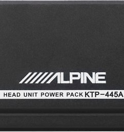 alpine ktp 445a power pack compact upgrade amplifier for your alpine receiver 45 watts rms x 4 at crutchfield com [ 2011 x 661 Pixel ]