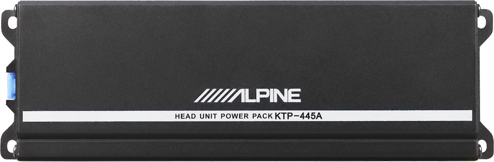 medium resolution of alpine ktp 445a power pack compact upgrade amplifier for your alpine receiver 45 watts rms x 4 at crutchfield com