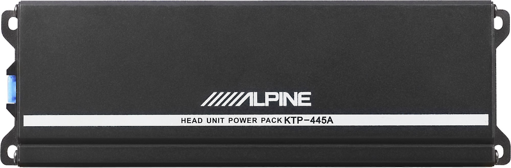 hight resolution of alpine ktp 445a power pack compact upgrade amplifier for your alpine receiver 45 watts rms x 4 at crutchfield com