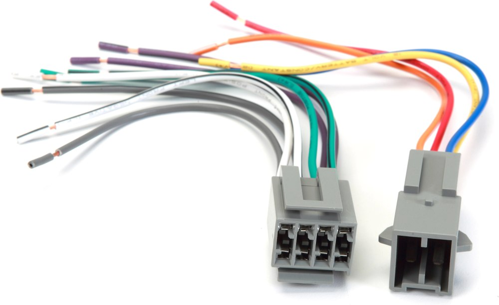 medium resolution of metra 70 1772 receiver wire harness connect a new car stereo in select 1982 88 ford lincoln and mercury vehicles with square plugs at crutchfield com
