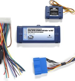 pac os2 gm32 wiring interface retains onstar bose amplifier and warning chimes when replacing factory radio in select 1996 2005 cadillac vehicles at  [ 1000 x 801 Pixel ]