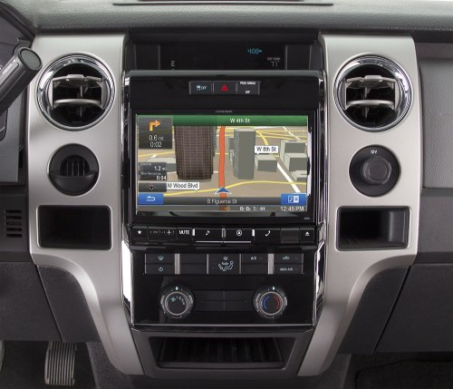 small resolution of alpine x009 fd1 in dash restyle system navigation receiver custom fit replacement radio with 9 screen for select 2009 up ford f 150 models at