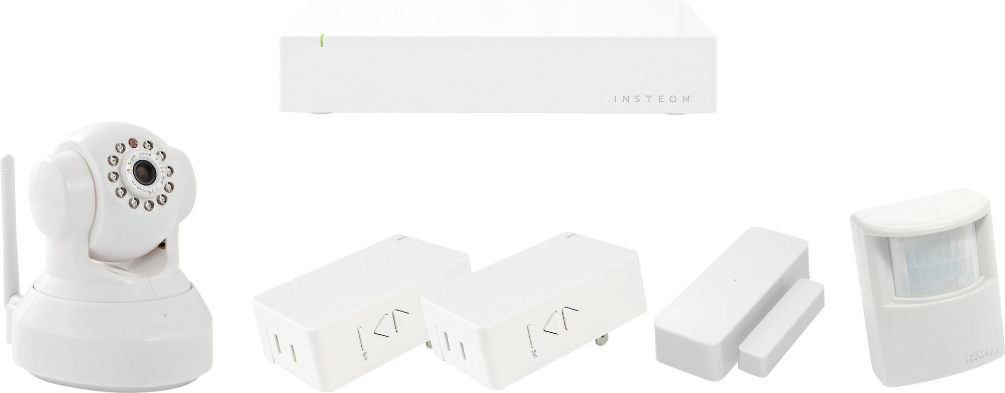 hight resolution of insteon connected kit home automation kit with sensor package and wireless indoor camera at crutchfield com
