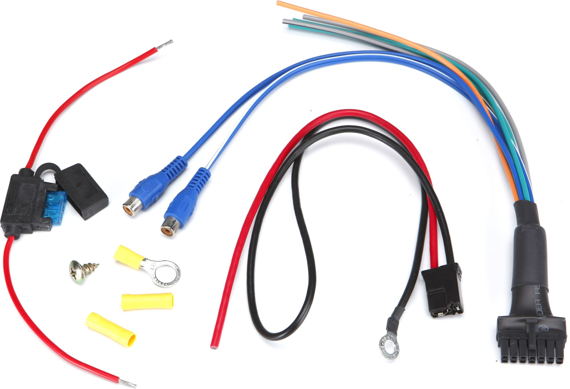 hight resolution of sas bazooka rsa hp awk amp wiring kit replacement wiring kit for rs series amplified bazooka tubes enclosures at crutchfield com