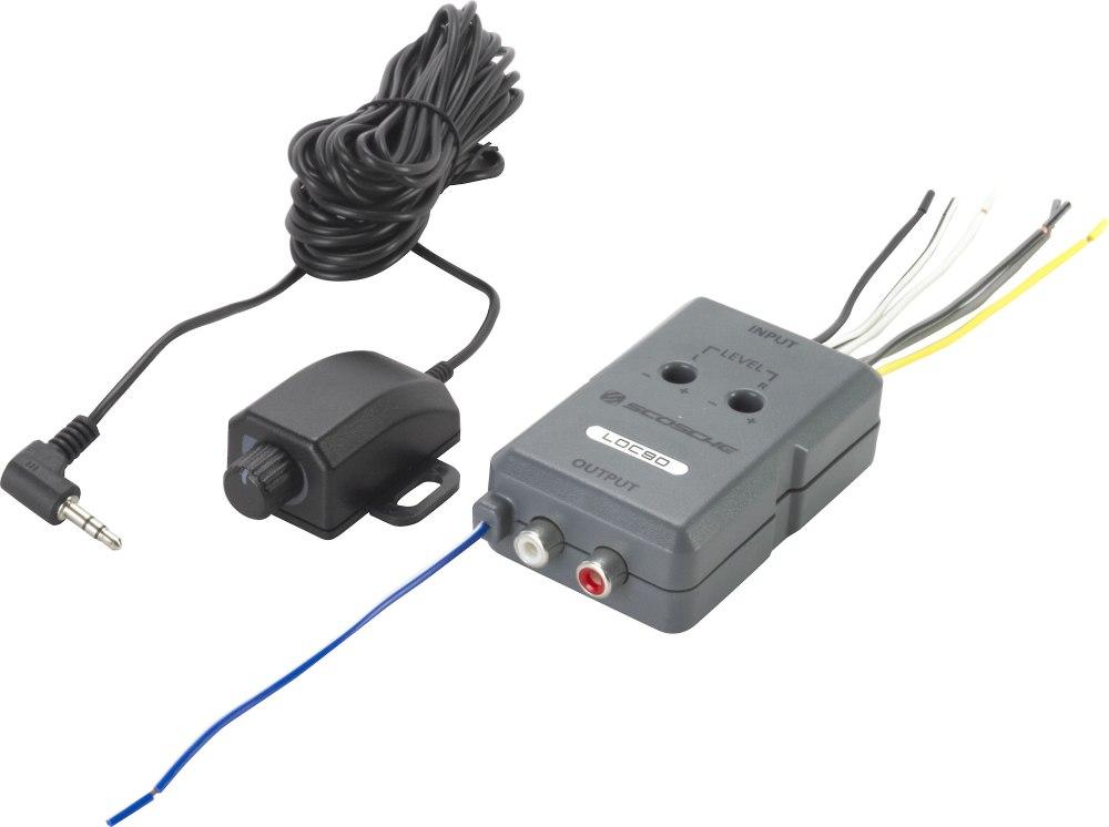 medium resolution of scosche loc90 speaker to rca line output converter 2 channel speaker to rca line output converter with remote level control at crutchfield