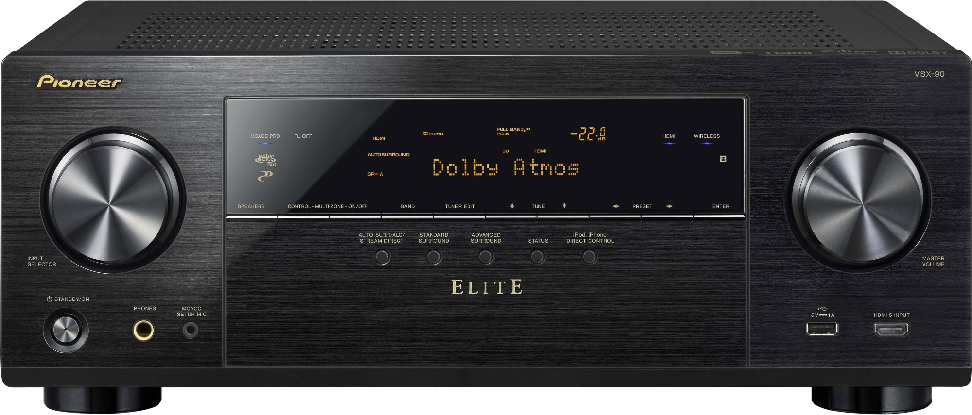 hight resolution of pioneer elite vsx 90 7 2 channel home theater receiver with wi fi bluetooth apple airplay and dolby atmos at crutchfield com