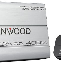 kenwood kac m1824bt compact 4 channel amplifier with bluetooth connectivity 45 watts rms x 4 at crutchfield [ 1563 x 689 Pixel ]