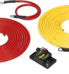 jl audio marine amp wiring kit 20 feet 6 gauge amplifier wiring kit with 50 amp circuit breaker at crutchfield [ 1317 x 650 Pixel ]
