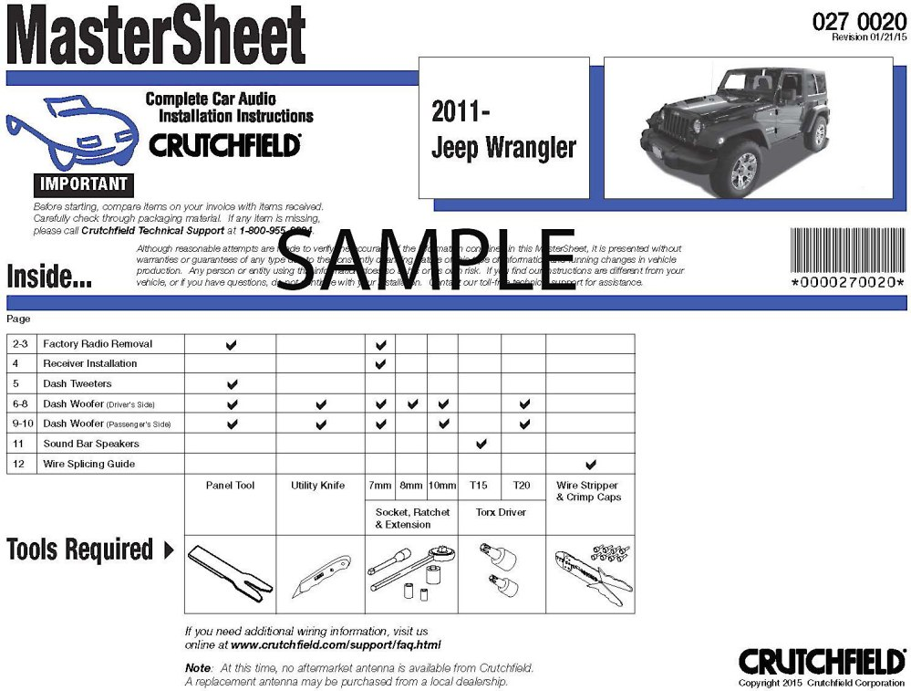 medium resolution of crutchfield vehicle specific instructions how to remove the radio and speakers from your vehicle at crutchfield