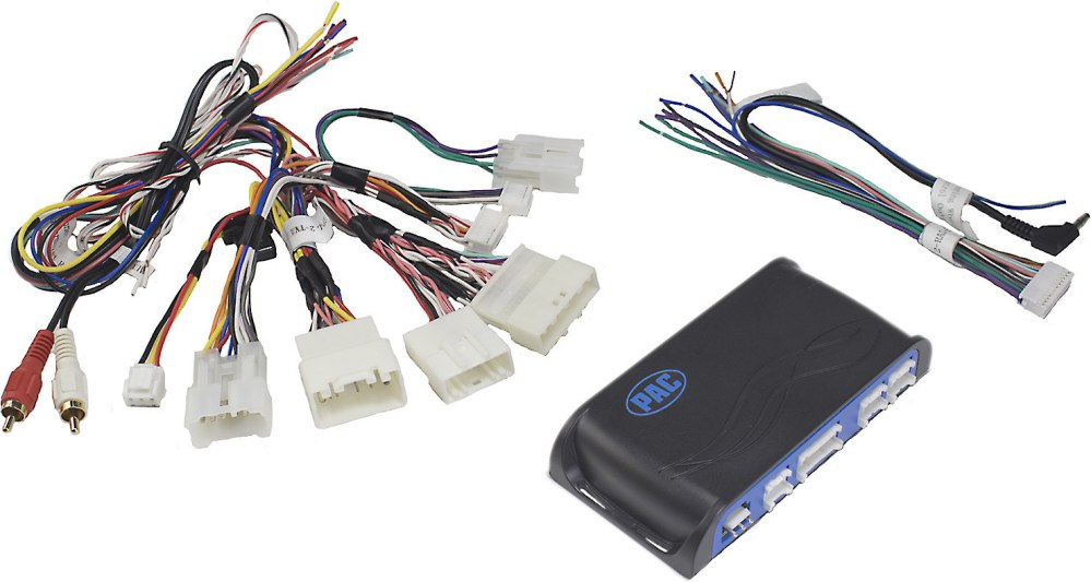 medium resolution of pac rp4 2 ty11 wiring interface connect a new car stereo and retain factory jbl system steering wheel controls and aux input in select 2003 up toyota