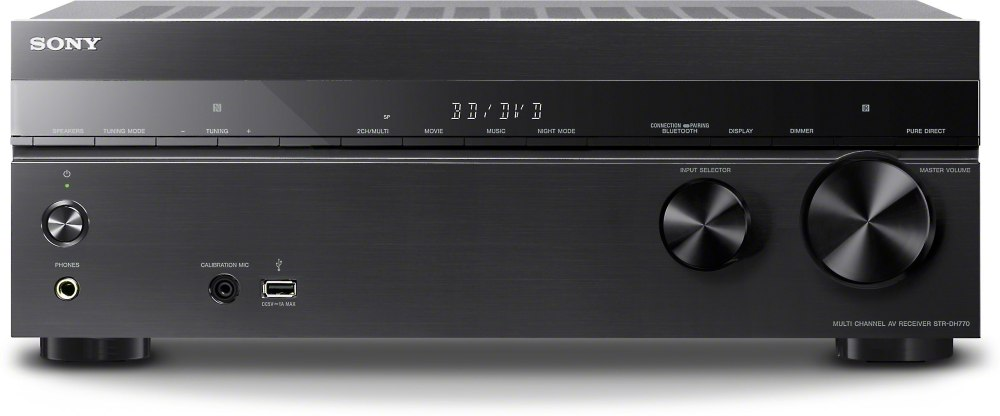 medium resolution of sony str dh770 7 2 channel home theater receiver with bluetooth at crutchfield com