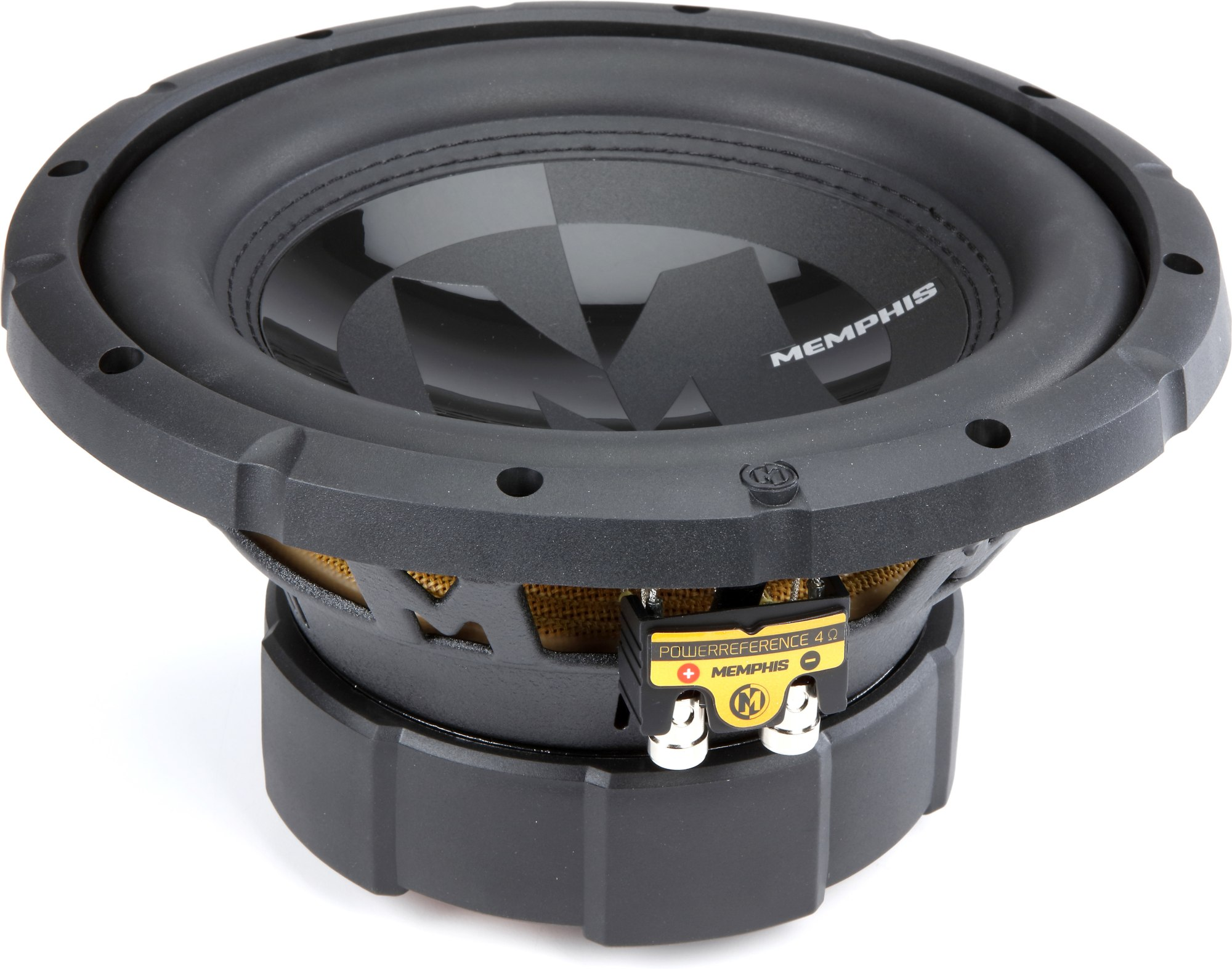 hight resolution of memphis audio 15 prx1044 10 dual 4 ohm voice coil subwoofer at crutchfield