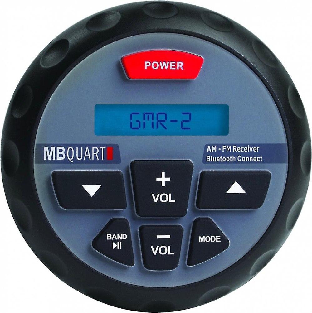 medium resolution of mb quart gmr 2 marine digital media receiver with built in bluetooth at crutchfield com