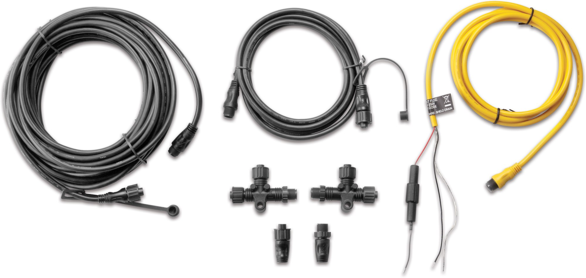 hight resolution of garmin nmea 2000 starter kit complete kit includes drop backbone and power cables at crutchfield