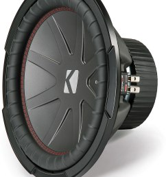 kicker 43cwr122 compr series 12 subwoofer with dual 2 ohm voice coils at crutchfield com [ 1219 x 1628 Pixel ]