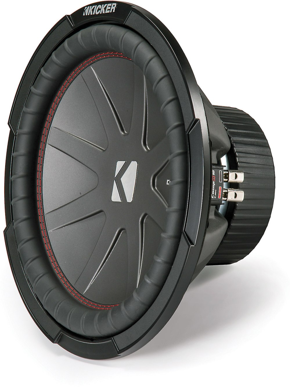 medium resolution of kicker 43cwr122 compr series 12 subwoofer with dual 2 ohm voice coils at crutchfield com